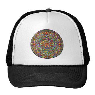 Aztec Calendar Mesh Hat