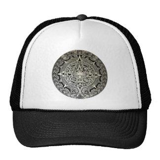 AZTEC CALENDAR HAT