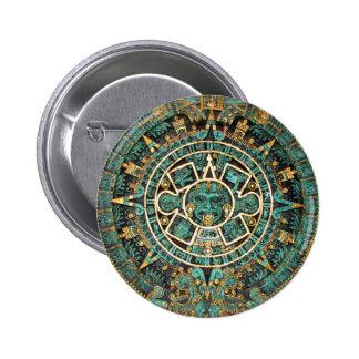Aztec Calendar in detail Pins