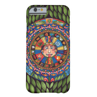 Aztec Calendar iphone 6 case Barely There iPhone 6 Case