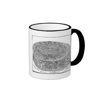 Aztec Calendar Ringer Mug