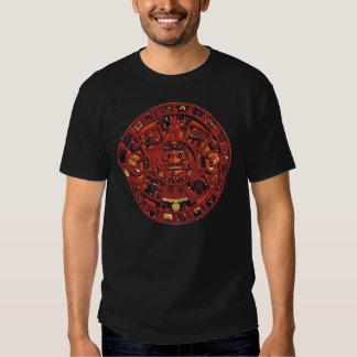 Aztec Calendar Tee Shirts
