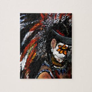 Aztec celebration jigsaw puzzle