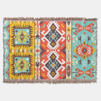 Aztec colorful fashion seamless pattern