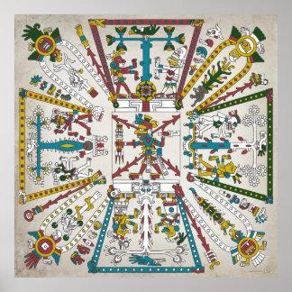 Aztec Cosmos  Poster
