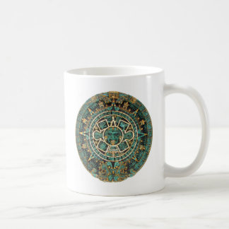 Aztec design coffee mug