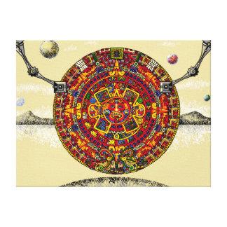Aztec Design Futuristic Calendar