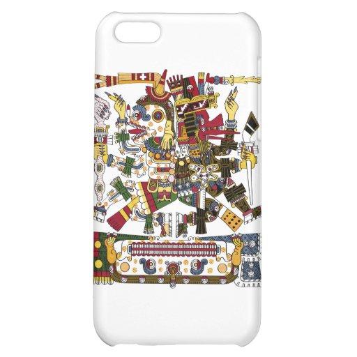 Aztec Duality iPhone 5C Cases