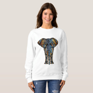 Aztec Elephant Women's Sweatshirt