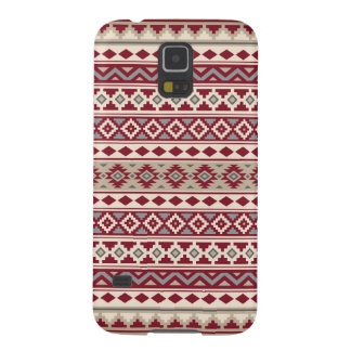 Aztec Essence Pattern IIb Red Grays Cream Sand Galaxy S5 Case