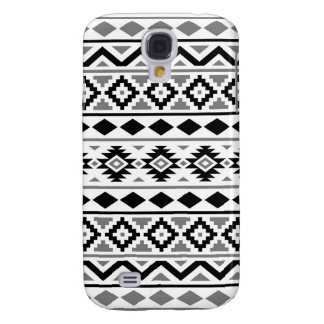 Aztec Essence Pattern III Black White Gray Samsung Galaxy S4 Case