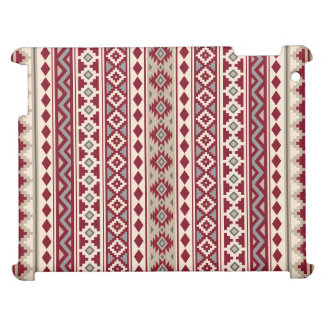 Aztec Essence Ptn IIb Red Grays Cream Sand iPad Covers