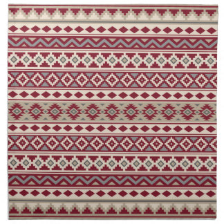 Aztec Essence Ptn IIb Red Grays Cream Sand Napkin