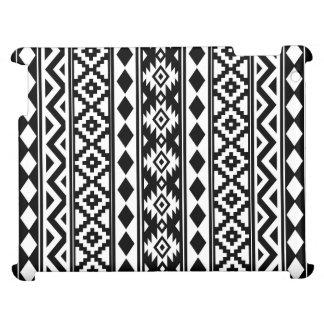 Aztec Essence Ptn IIIb Black & White iPad Case