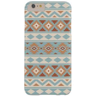 Aztec Essence Ptn IIIb Blue Cream Terracottas Barely There iPhone 6 Plus Case