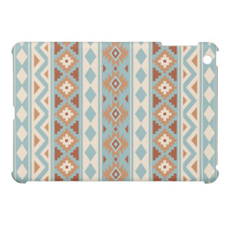 Aztec Essence Ptn IIIb Blue Cream Terracottas Cover For The iPad Mini