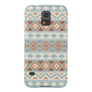 Aztec Essence Ptn IIIb Blue Cream Terracottas Galaxy S5 Case