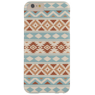 Aztec Essence Ptn IIIb Cream Blue Terracottas Barely There iPhone 6 Plus Case