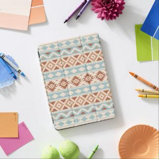 Aztec Essence Ptn IIIb Cream Blue Terracottas iPad Air Cover