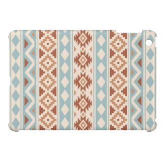 Aztec Essence Ptn IIIb Cream Blue Terracottas iPad Mini Cover