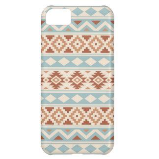 Aztec Essence Ptn IIIb Cream Blue Terracottas iPhone 5C Case
