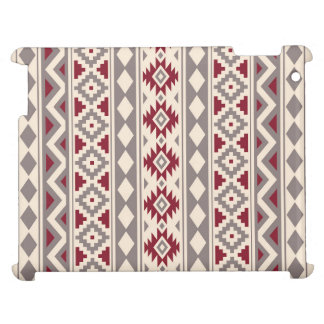 Aztec Essence Ptn IIIb Cream Taupe Red Cover For The iPad 2 3 4