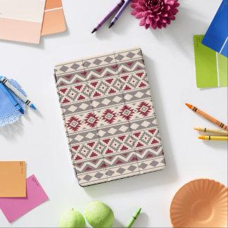 Aztec Essence Ptn IIIb Cream Taupe Red iPad Air Cover