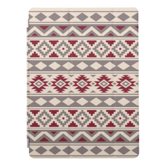 Aztec Essence Ptn IIIb Cream Taupe Red iPad Pro Cover