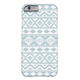 Aztec Essence Ptn IIIb Duck Egg Blue & White Barely There iPhone 6 Case