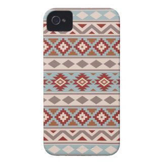 Aztec Essence Ptn IIIb Taupe Blue Crm Terracottas Case-Mate iPhone 4 Case