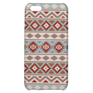 Aztec Essence Ptn IIIb Taupe Blue Crm Terracottas iPhone 5C Covers