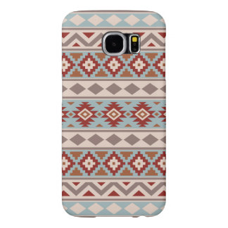 Aztec Essence Ptn IIIb Taupe Blue Crm Terracottas Samsung Galaxy S6 Cases