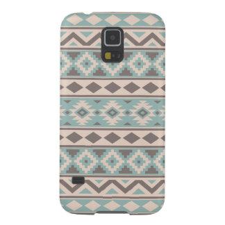 Aztec Essence Ptn IIIb Taupe Teal Cream Galaxy S5 Case