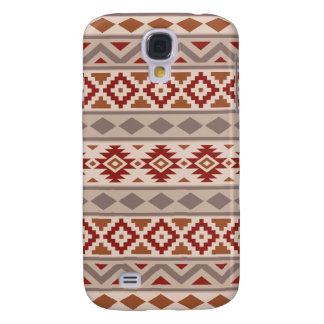 Aztec Essence Ptn IIIb Taupes Creams Terracottas Galaxy S4 Cover