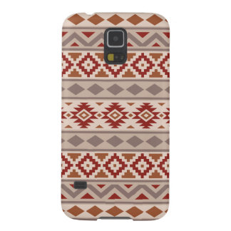Aztec Essence Ptn IIIb Taupes Creams Terracottas Galaxy S5 Case