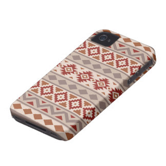 Aztec Essence Ptn IIIb Taupes Creams Terracottas iPhone 4 Case-Mate Case