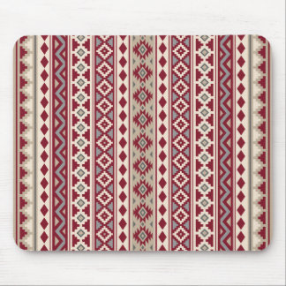 Aztec Essence V Ptn IIb Red Grays Cream Sand Mouse Pad