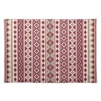 Aztec Essence V Ptn IIb Red Grays Cream Sand Placemat