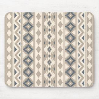Aztec Essence V Ptn IIIb Blue Cream Sand Mouse Pad