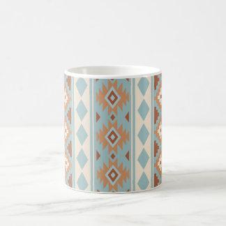 Aztec Essence V Ptn IIIb Blue Cream Terracottas Coffee Mug