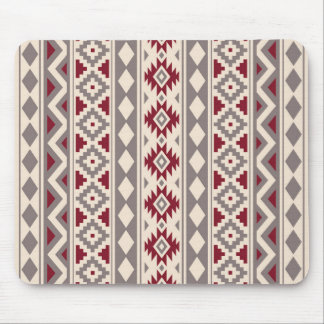 Aztec Essence V Ptn IIIb Cream Taupe Red Mouse Pad