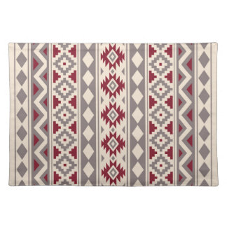 Aztec Essence V Ptn IIIb Cream Taupe Red Placemat