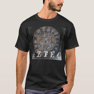 Aztec Face in Sun CalendarT-shirt T-Shirt