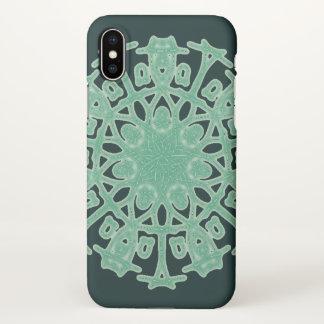 Aztec Forest Gem ~ iPhone X Case