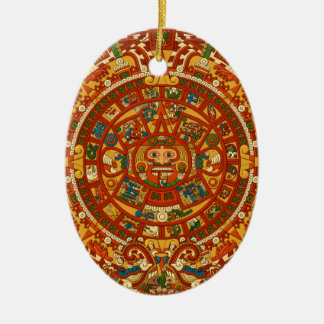 Aztec Gifts Qpc Template Ceramic Oval Decoration