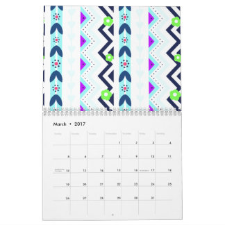 Aztec Girl Wall Calendar