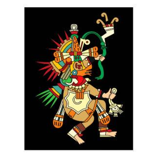 Aztec God Quetzalcoatl Postcard