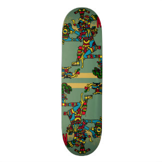 Aztec God Skate Board