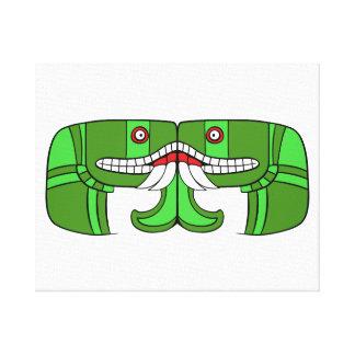 Aztec Goddess of Earth Canvas Prints