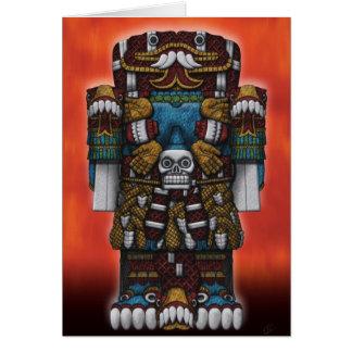 Aztec Greetings Card